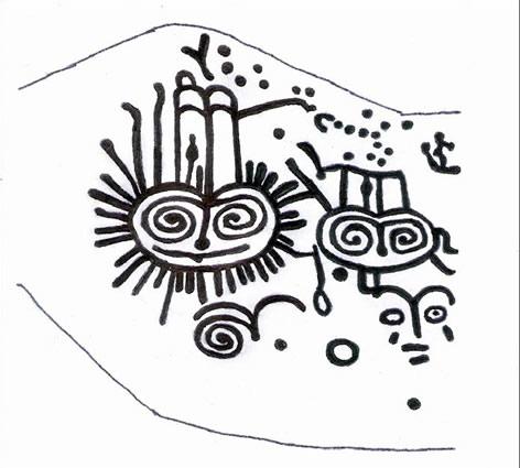 Arte rupestre mitología simbología avifauna rapaces nocturnas ...
