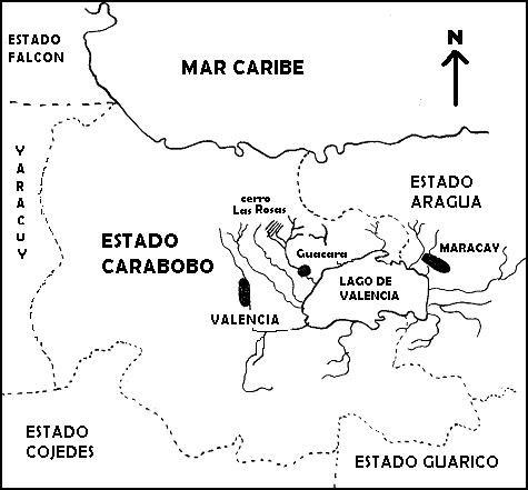 Mapa de carabobo para colorear - Imagui