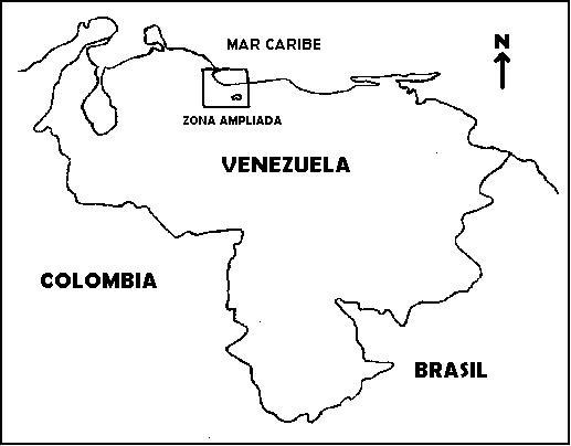 Mapa de venezuela para colorear y sus limites - Imagui