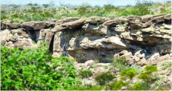 Abrigo rocoso geologia
