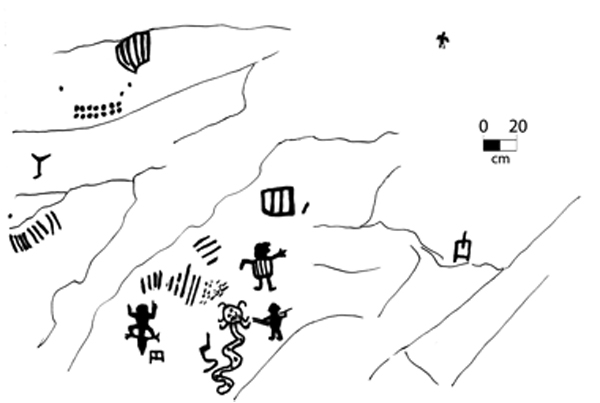 Arte rupestre Chinchaypucyo y las pinturas rupestres de Pumawasi ...