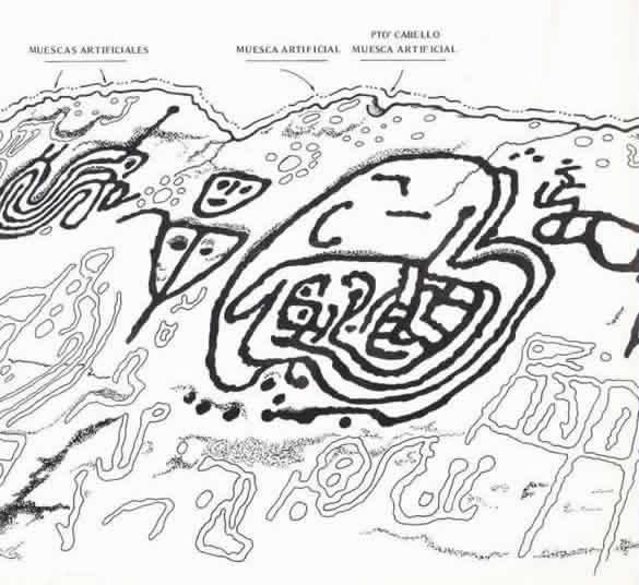 arte rupestre Venezuela Eva Hofle Alexi Rojas